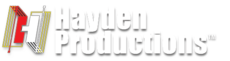 Hayden Productions Main Header Logo